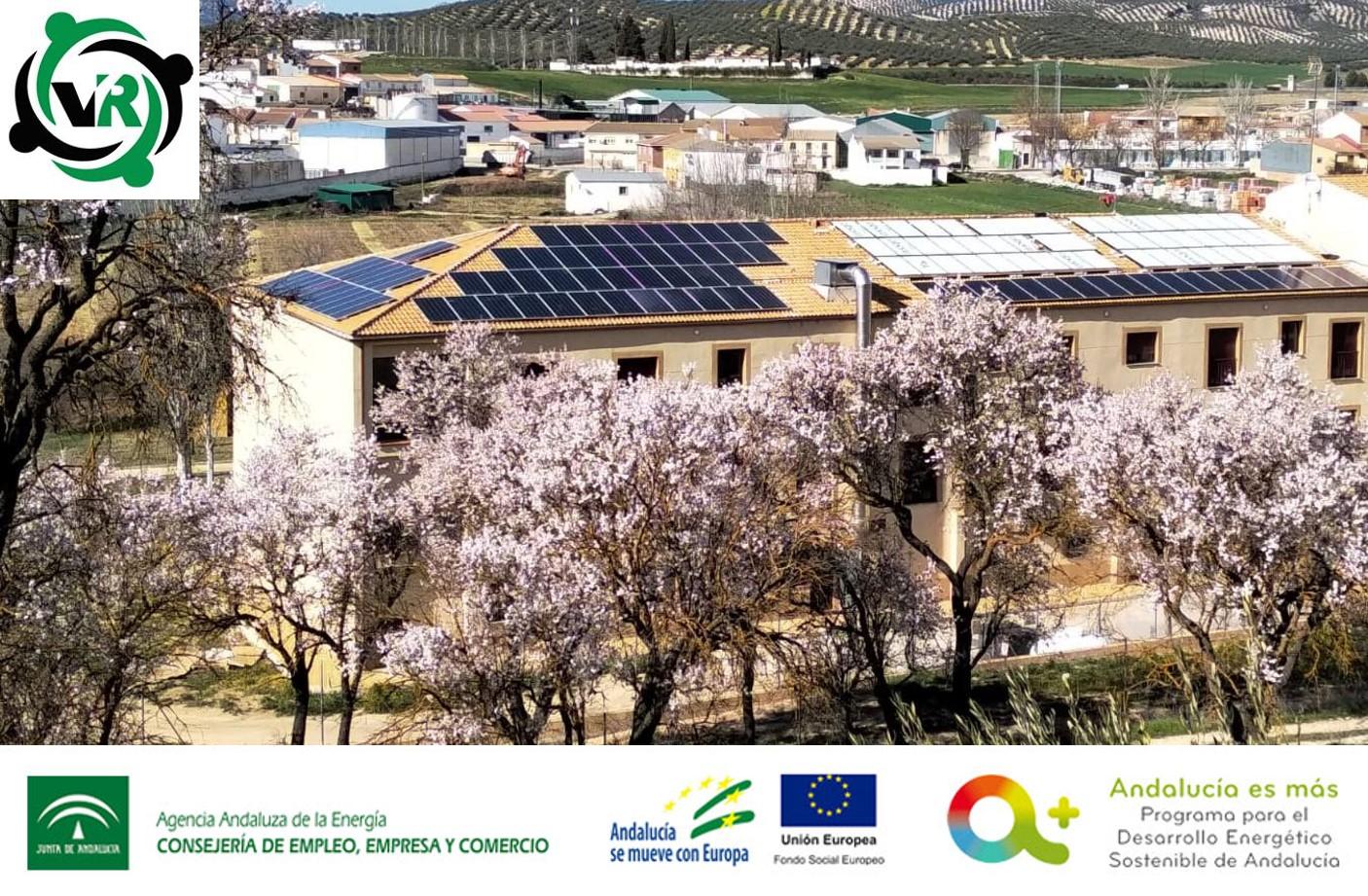 Subvención instalaciones de energía solar fotovoltaica para Residencia Virgen de los Remedios, S.L.